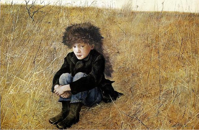 Andrew Wyeth,Faraway, 1952