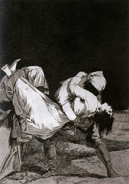 Francisco Goya, ¡  Que se la llevaron! , 1799