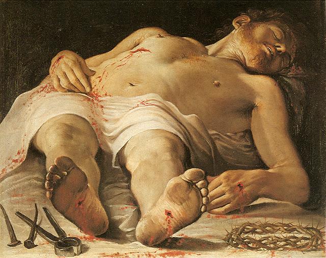Annibale Carracci, Salma di Cristo (Body of Christ) , 1583–85