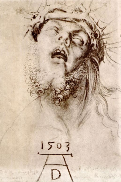 Albrecht Dürer, The Dead Christ with the Crown of Thorns, 1503