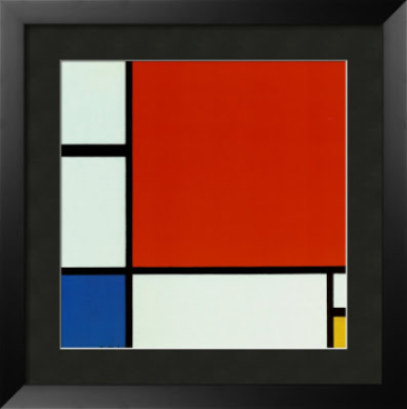 Piet Mondrian,  Composition II in Red, Blue, and Yellow,  1930