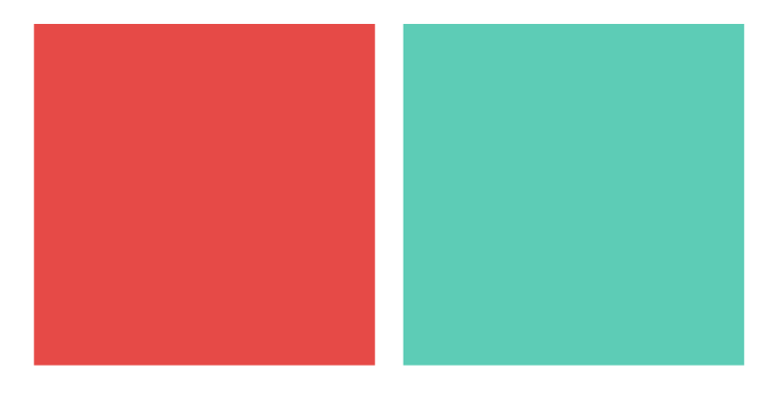 Tangerine Tango,Pantone 17-1463. With a side of teal, because everyone loves contrast.