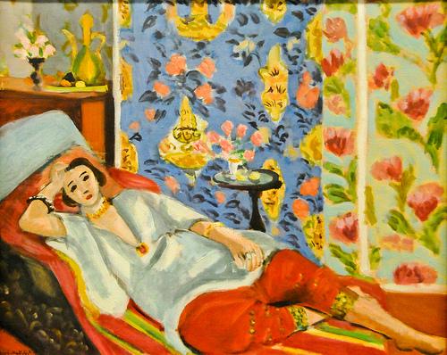 Henri Matisse, Odalisque a la culotte rouge, 1925