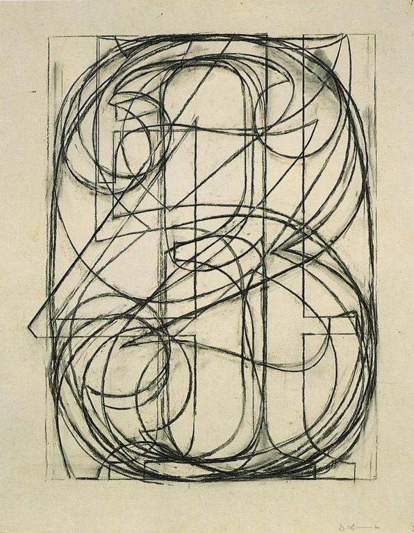Jasper Johns, 0 through 9 , 1960