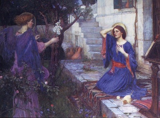 John WIlliam Waterhouse,  The   Annunciation , 1914