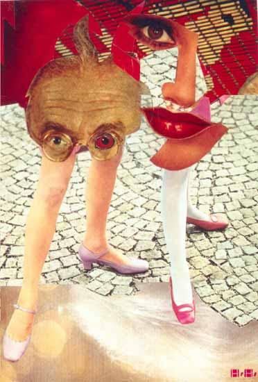 Hannah Höch, Grotesque, 1963