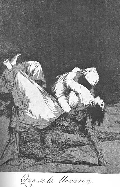 Goya,  They Carried Her Off! , 1799