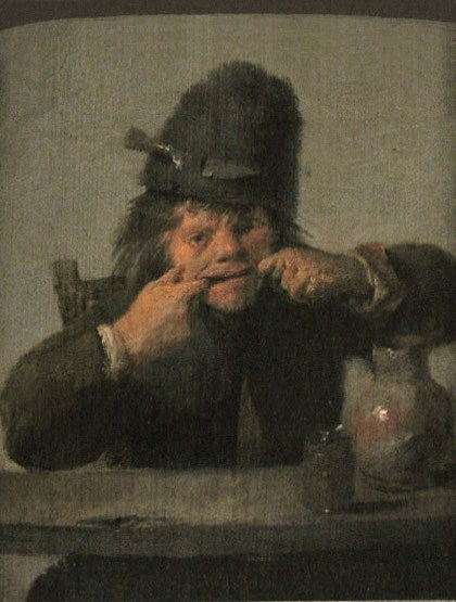 Adriaen Brouwer, Youth Making a Face, 1632/1635
