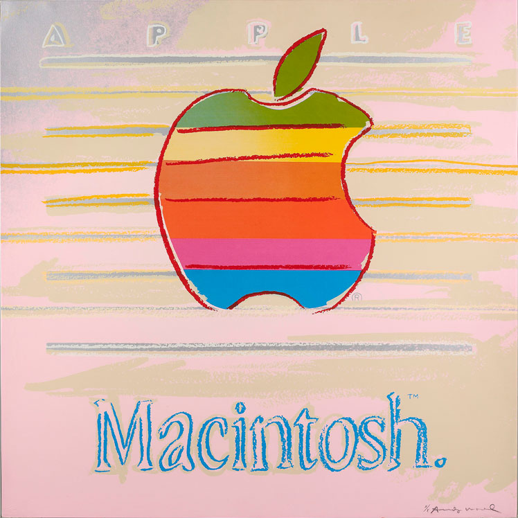 Andy Warhol,  Apple Macintosh  print, 1985