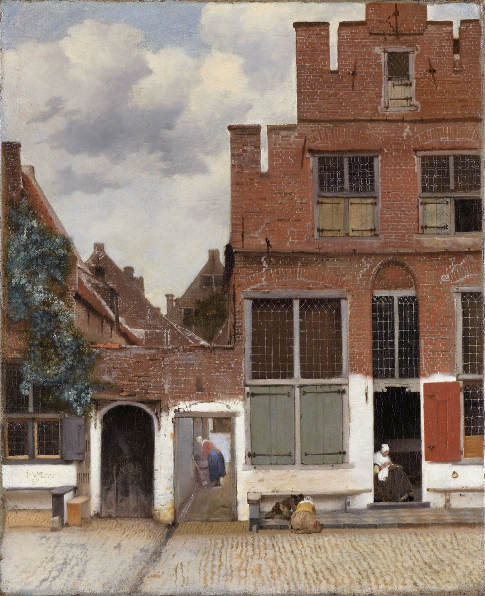 Johannes Vermeer,  The Little Street , 1657-1658