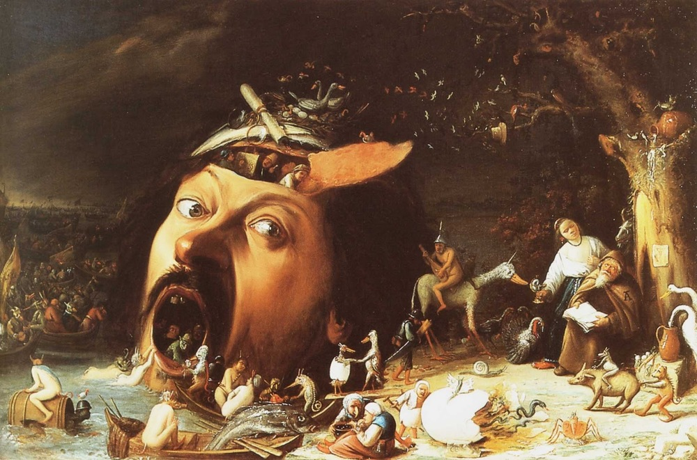 Joos van Craesbeeck, The Temptation of St. Anthony, 1650