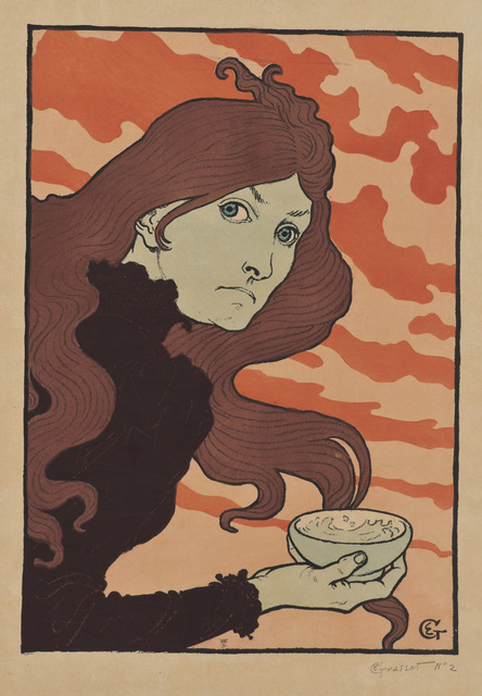 Eugène Samuel Grasset,La Vitrioleuse (The Acid Thrower), 1894