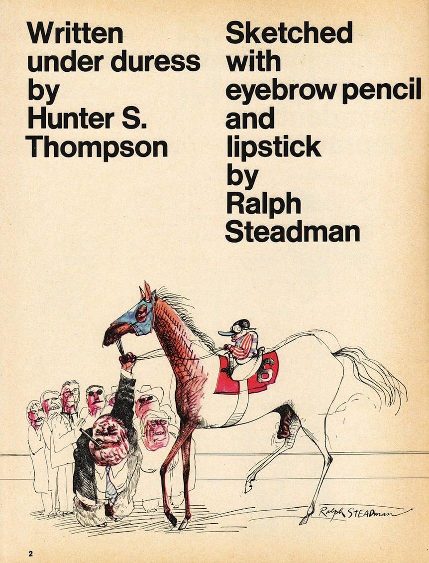 Ralph Steadman, 1970