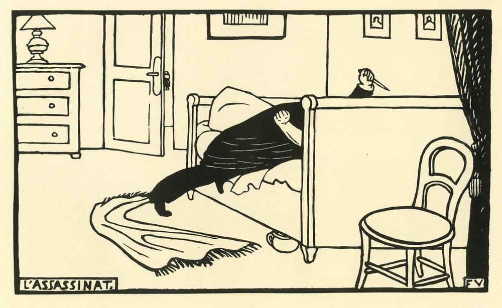 Félix Vallotton ,  Murder , 1893