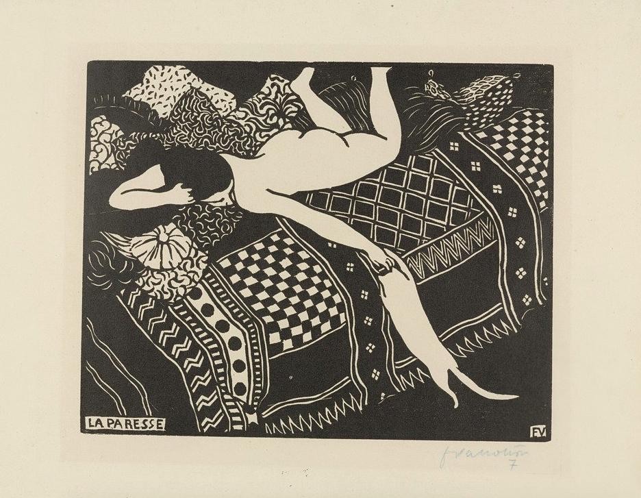 Félix Vallotton,Laziness (La Paresse),1896