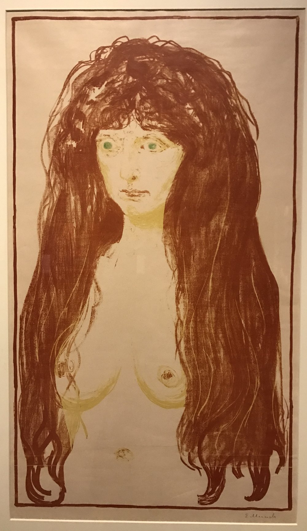 Edvard Munch, The Sin, 1902