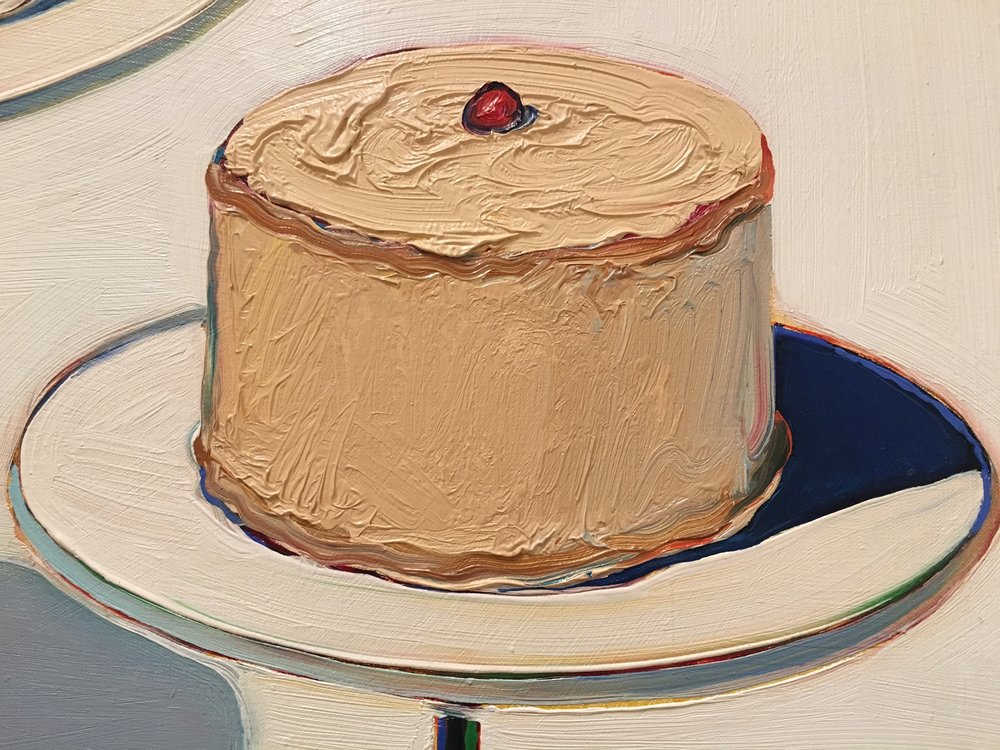 Wayne Thiebaud,  Display Cakes , 1963