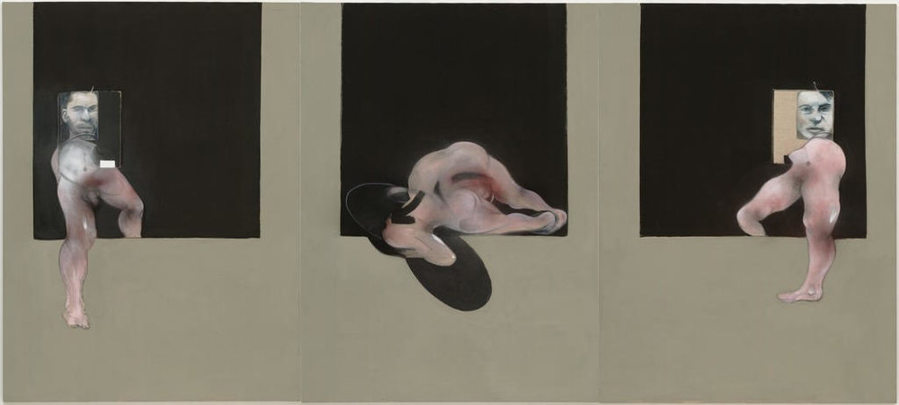 Francis Bacon,  Triptych , 1991
