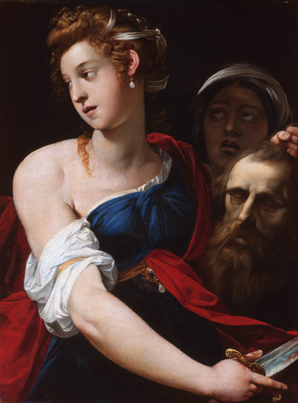Cavalier d'Arpino, Judith with the Head of Holofernes, 1610