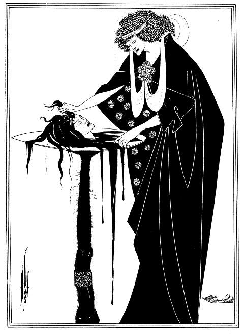 Aubrey Beardsley, The Dancer's Reward, 1894
