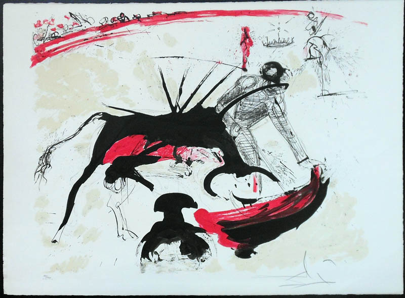 Salvador Dalí,  Bullfight I , 1966–67