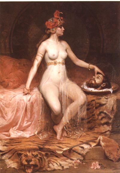 Pierre Bonnaud,  Salome , 1900