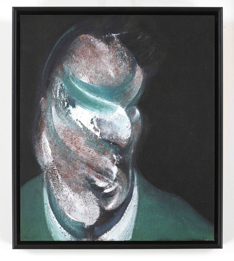 Francis Bacon,  Study for Head of Lucian Freud (Q3) , 1967