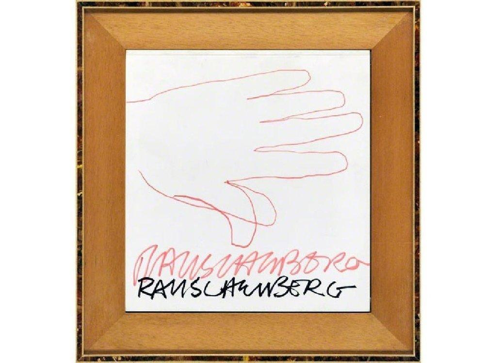 Robert Rauschenberg,  Hand ,1970