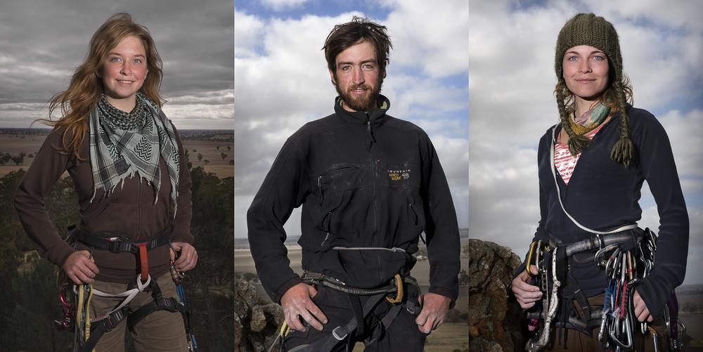 Rock Climbers Mount Arapiles