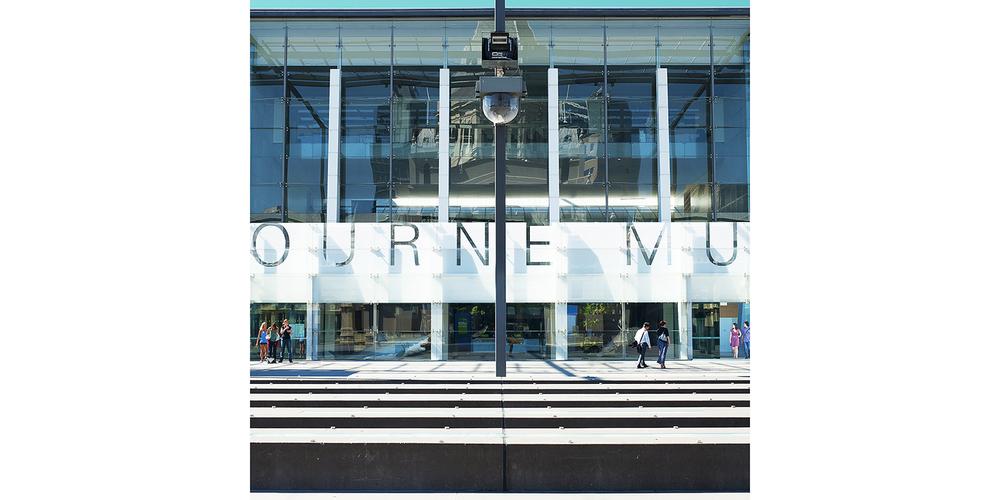 Melbourne Museum Forecourt