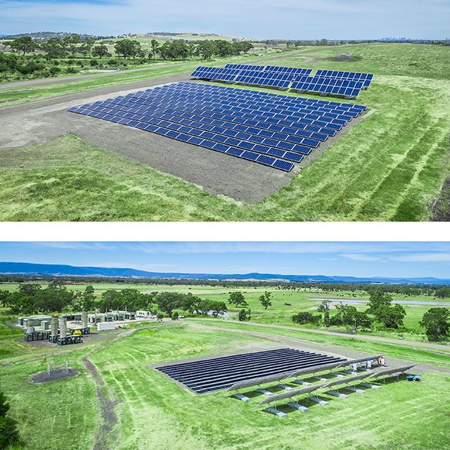 Joule Energy and LMS Energy Solar project in Victoria Au. Renewable energy to the grid.