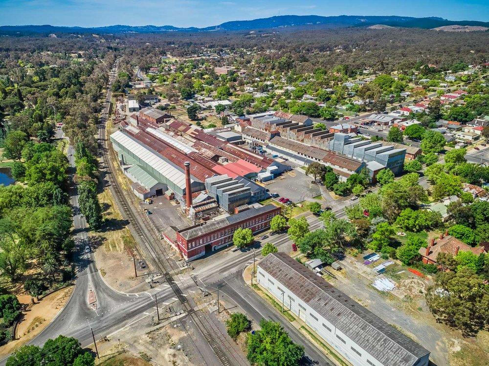 Flowserve Pumps Facility, Castlemaine, Victoria, Australia