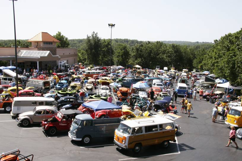 Join Us For The Th Anniversary At Eureka Springs Day VW Festival - Vw car show this weekend