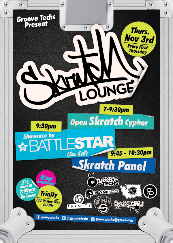 November 2011:  Battlestar (Cwitch & Rayted R)