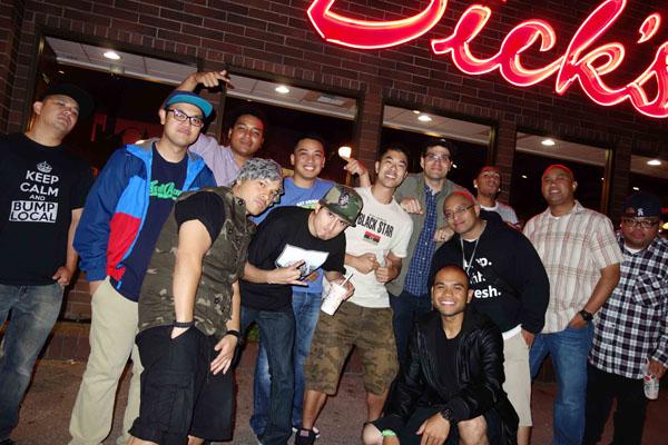 August 2013: DJ C-Plus