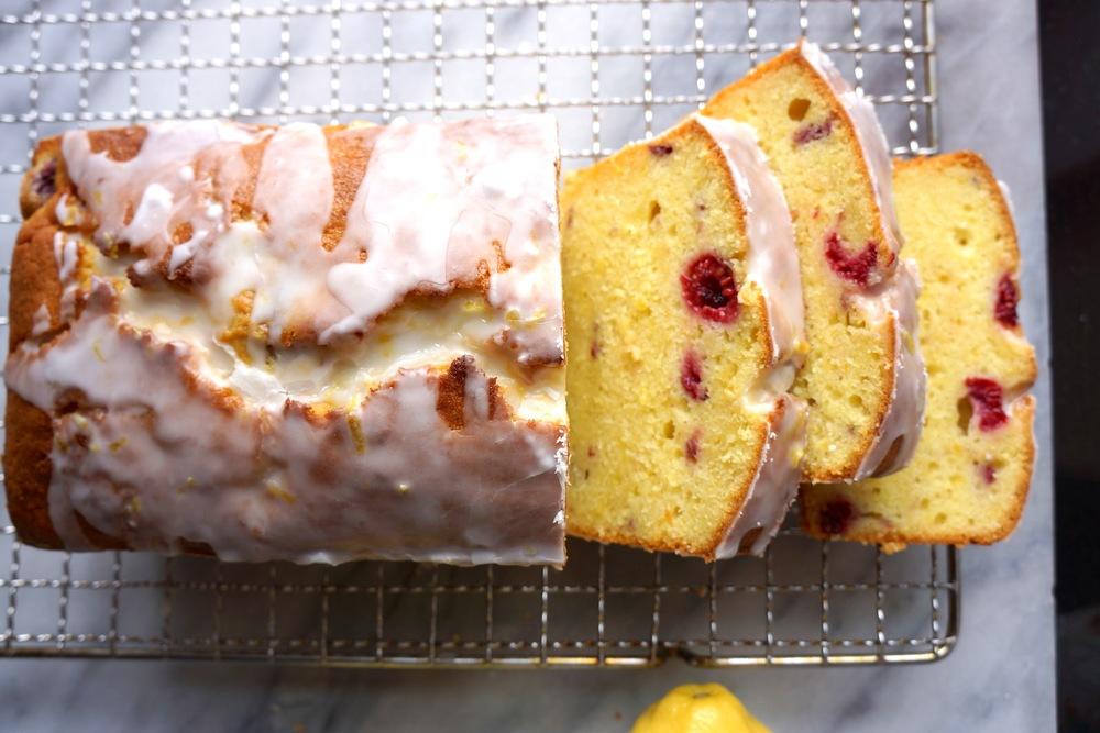 Lemon Raspberry Pound Cake — Love, Cake