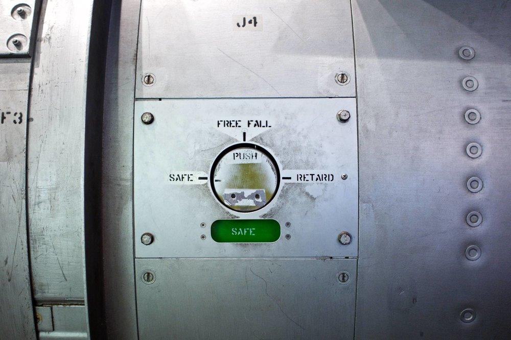 B53 Nuclear Bomb #1, 2018.