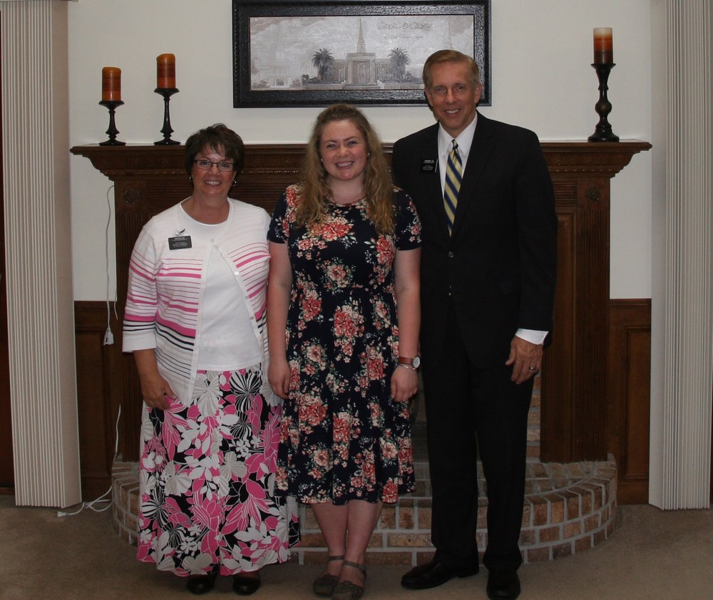 President and Sister Lee (my Mission President and his wife)