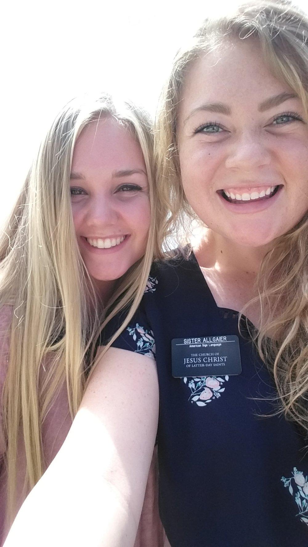 Sister Knudsen and I