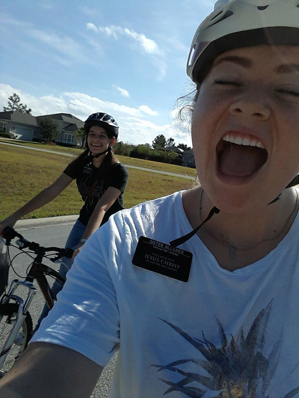 Bike riding in PANTS!!!!