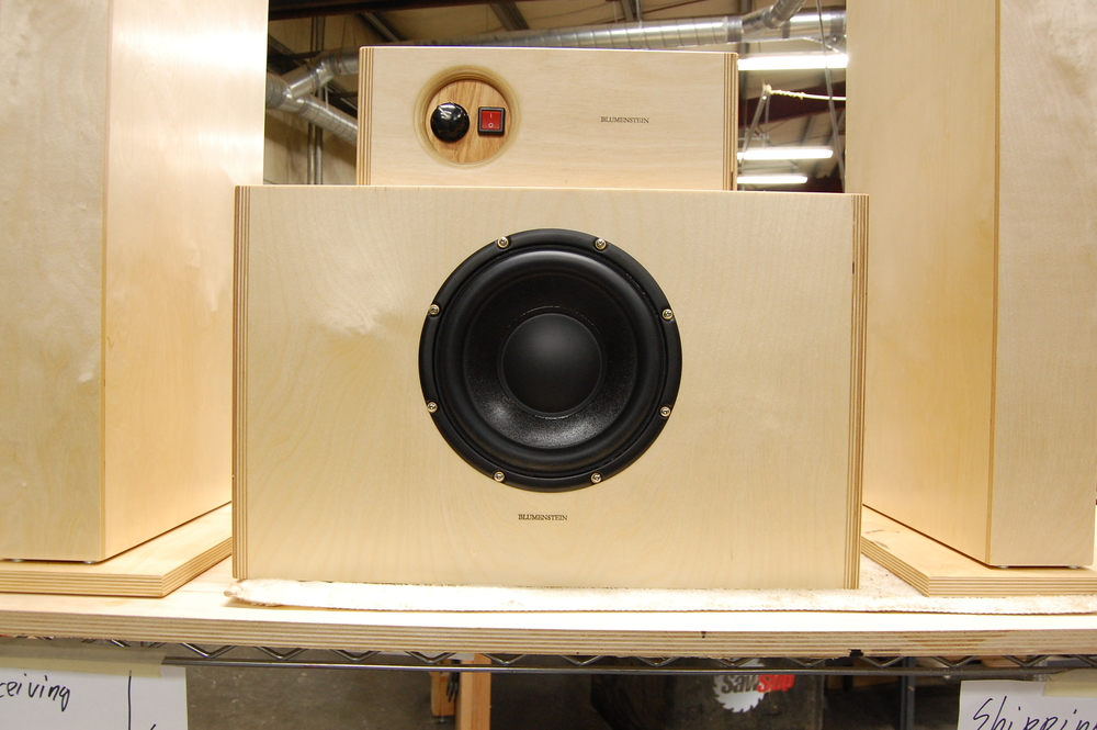 Orca Subwoofer in Birch with Digital Honey amplifier
