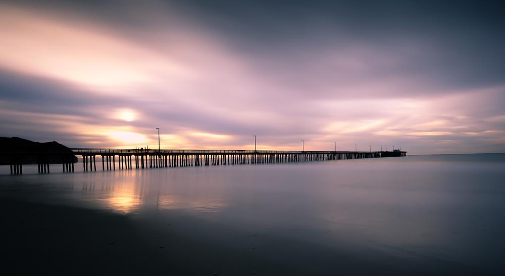 Avila Beach sunrise.