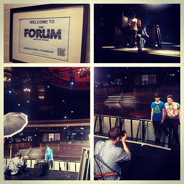 Photoshoot for company website underway at the Forum today @s_inead @alexgregoryphoto @chrisjaustin @malloryman