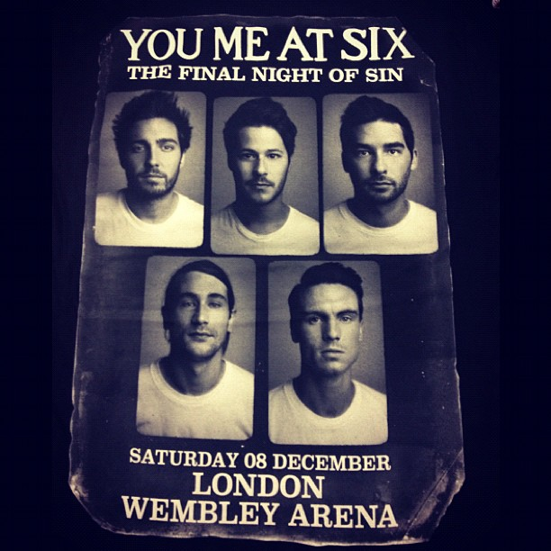 Who got themselves one of these this weekend!?? #finalnightofsin #youmeatsix