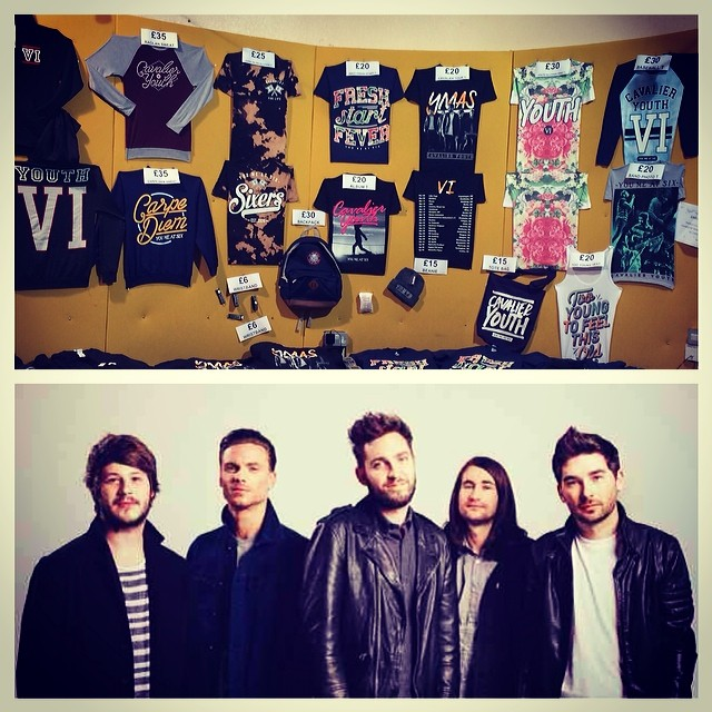 ATTN YOU ME AT SIX FANS!!! Tomorrow night @youmeatsix play their SOLD OUT Alexandra Palace show... There will be a merch stand open from 2pm outside... Please do not buy bootleg merchandise, make sure it's just from the official stalls. HAVE FUN and good luck to YMAS!