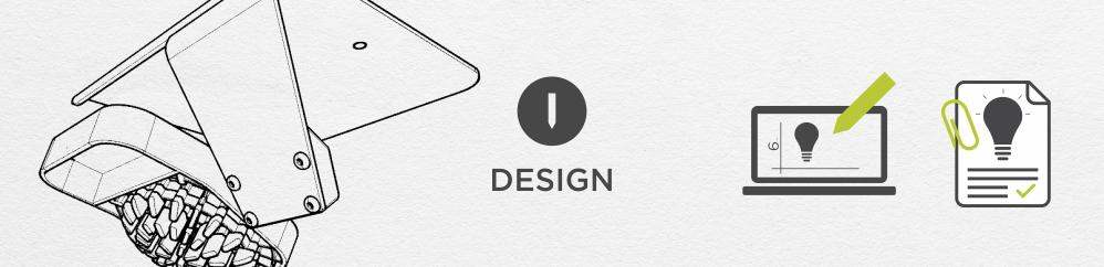 Het concept wordt een aantrekkelijk ontwerp dat technisch uitontwikkeld wordt tot een geverifieerd productiedossier.