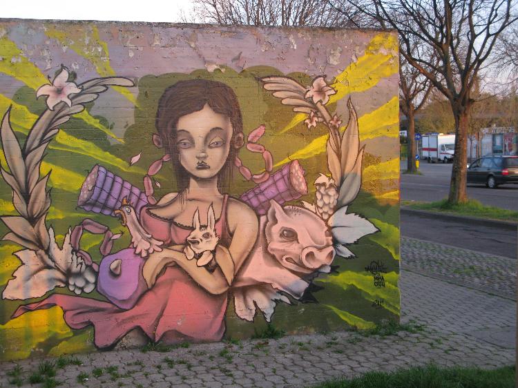 Street art for kids with a graffiti artist