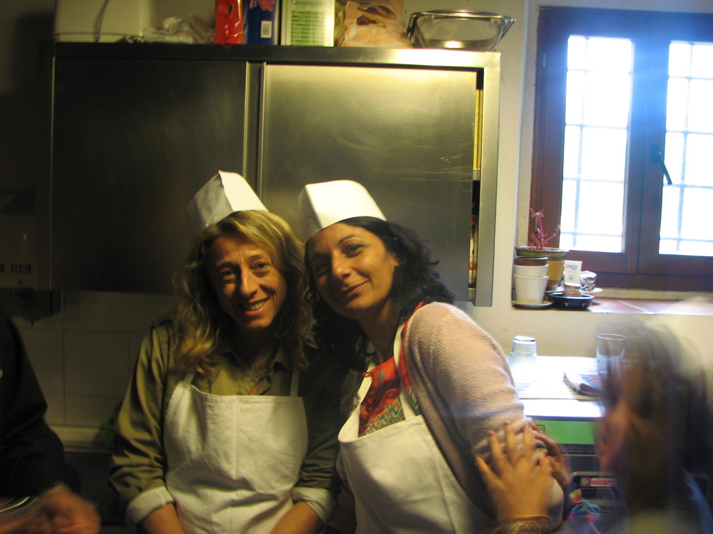 Cooking school in Chianti