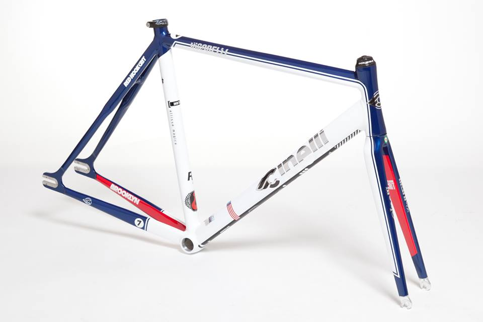 The highly acclaimed CINELLI Vigorelli custom for RHC#7 now strikes back in an EXTRA LIMITED 20 pieces only special edition! What has always been a winner's-only one-piece-off medal of honour, now can be yours in a super-exclusive series! Check more! http://cinelli.bigcartel.com/