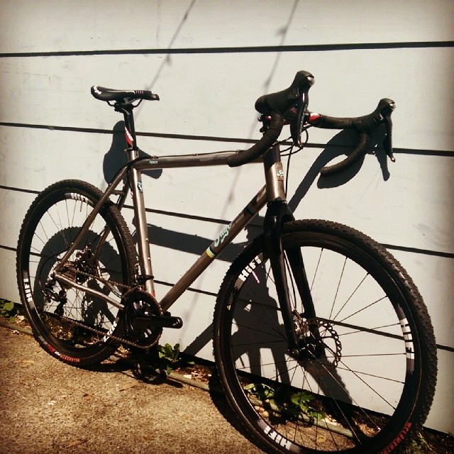 Prototype PDXCX all built up and ready for her professional photographer session to commence.  #MadeInUSA  ,  #PDXCX